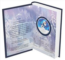 2016 1 oz Niue Silver Disney Frozen Olaf Proof Ounce