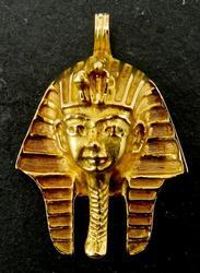 19kt Gold King Tut Pendant