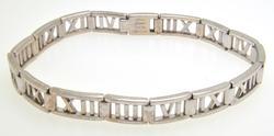 Tiffany & Co. 18kt Gold Atlas Bracelet