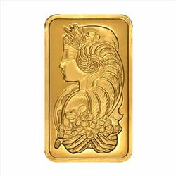 Five Troy Ounce Fine Gold Bar, PAMP