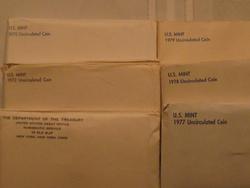 12 Mint Sets - 1972, 1973, 1975, 1977, 1978, 1979