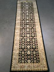 Stylish Antique Reproduction Ushak Design 8 Ft runner