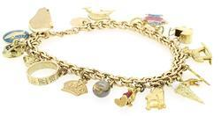 WHIMSICAL CHARM BRACELET COMPLETE WITH CHARMS
