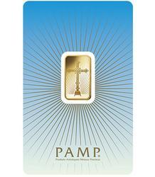 5 Gram Pamp Fine Gold Roman Cross