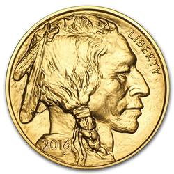BU 2016 $50 1Oz Gold Buffalo