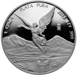 2015 Mexico Libertad Proof 1 oz