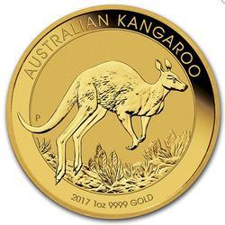 2017 Australian Gold 1oz Kangaroo Coin