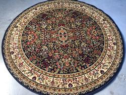 Magnificent Detailed Classic  Sarouk  Design 6ft Round