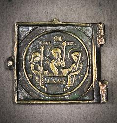Rare Part of the Triptych Troitsa XVIII Century