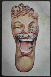 Funny Card Foot, XX Century, Europe