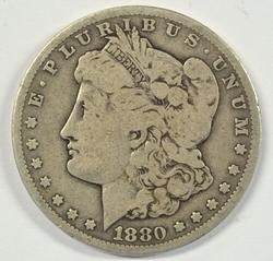 Key Date 1880-CC Morgan Silver Dollar