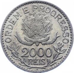 Brazil 2000 Reis 1913