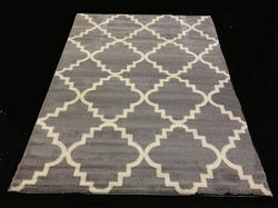 Trendy And Fashion Lattice Design Area Rug 6x8