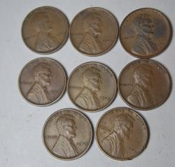 8 Popular Higher Grade 1909 VDB  Cents
