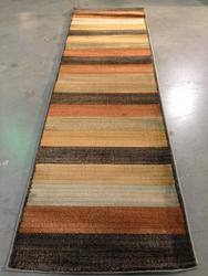 Decorative Colorful Contemporary 8 Ft Runner
