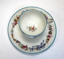 Lovely Russian Single Porcelain Tea Set
