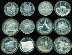 12 Proof Silver $1 Commemoratives