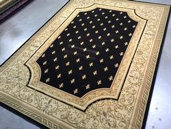 Classic French Fleur De Lys Design Area Rug 8x11