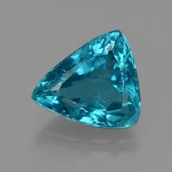 Beautiful vivid 4.81ct Green Blue Apatite
