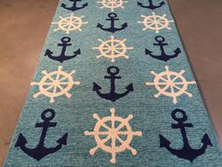 Coastal Indoor-outdoor Area Rug 3x5