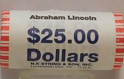 2010 Abraham Lincoln Unc Presidential Dollar roll