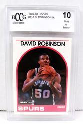 David Robinson, Hoops Basketball Card, 10 Mint
