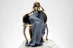 Beautifull Piece of Art The Seated Woman