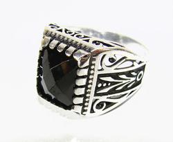 Charming & Attractive GEM 925 Silver GENTS Ring