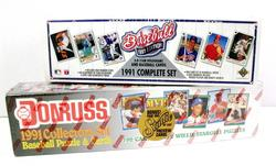 2 Boxes of 1991 Baseball Cards.