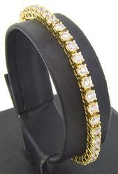 5.0 CTW Diamond Tennis Bracelet in Yellow Gold