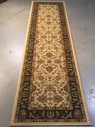 8' Long Classic Detailed & Decorative Runner Rug