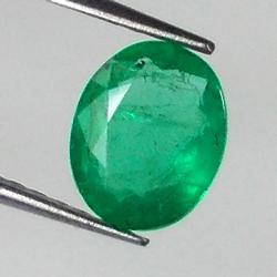 Stunning 1.11ct Emerald center stone