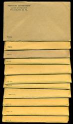 11 Assorted Silver US Proof Sets in Original Envelopes