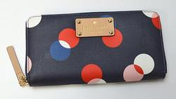 Kate Spade Zip Continental Style Wallet