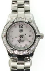 Ladies Tag Heuer Aquaracer with Diamonds