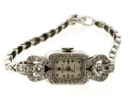 Ladies Vintage Rolex Precision with Diamonds