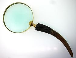 Magnifying glass with Wood Handle