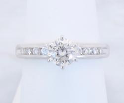 Classic GIA Certified Diamond Ring