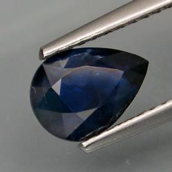 Rare 1.65ct natural top blue Sapphire
