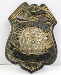 Bank of Buffalo Vintage Badge