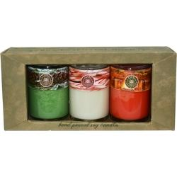 Set of 3 Candle Gift Set, Different Scent