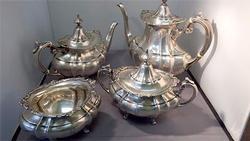 Beautiful 4 Piece Tea Set in Hampton by Reed & Barton