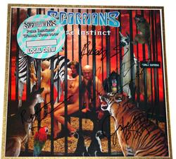 SCORPIONS Autographed Signed Album LP & PROOF PSA/DNA
