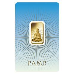 10gr Fine Gold PAMP Suisse Bar, Buddha