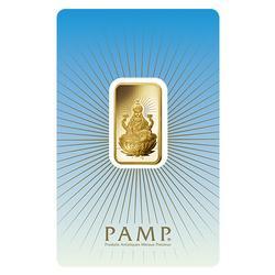 10gr Fine Gold PAMP Suisse Bar, Lakshmi