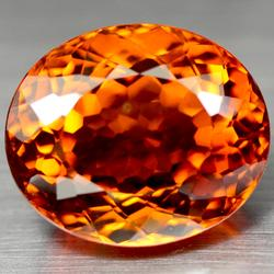 Immaculate 37.30ct Hydrothermal Citrine