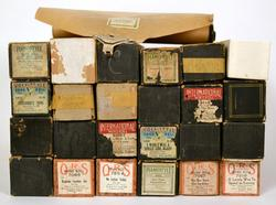 Lot of 24 Collectible Vintage Player Piano Rolls