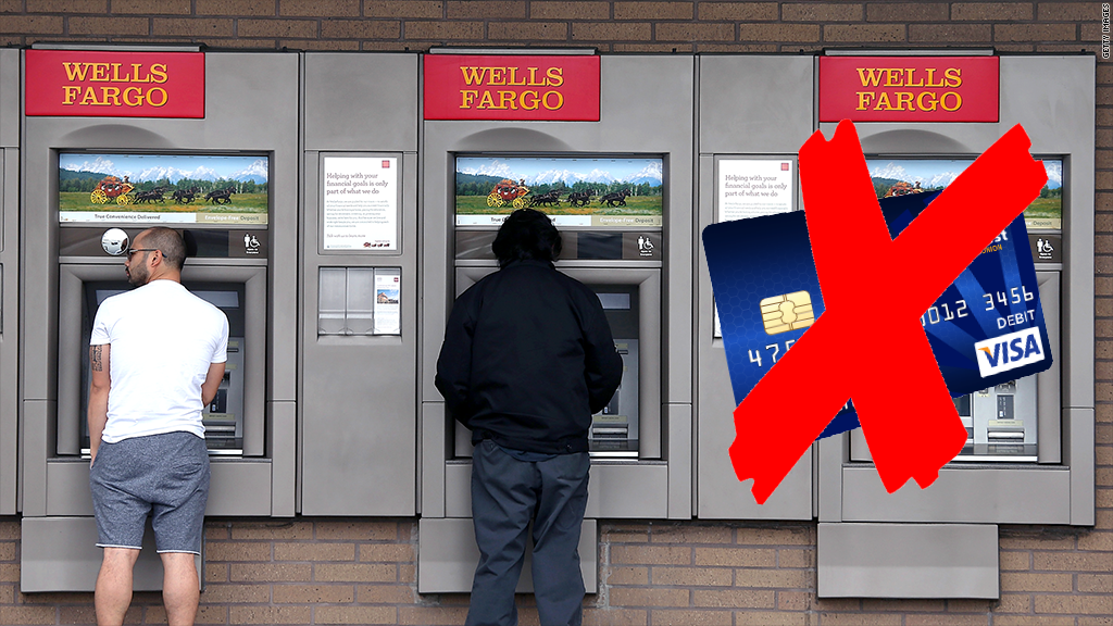 Wells Fargo Cardless ATM Withdrawal