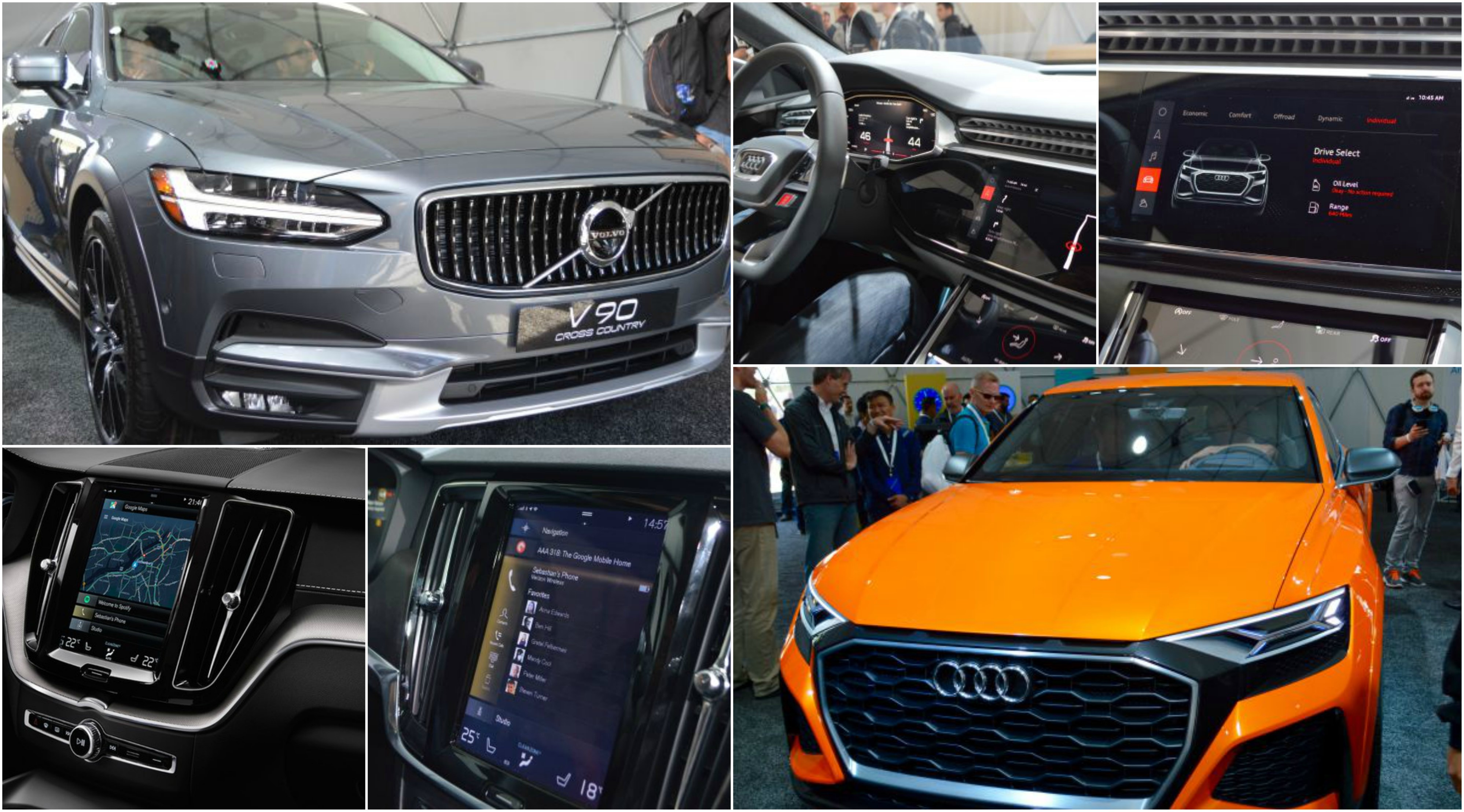 Volvo & Audi Android Powered Cars Development