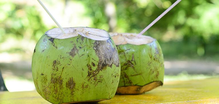 Água de coco e rapadura: alternativas naturais para o corpo